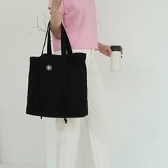 [마크앤와이]시그니쳐 스퀘어 숄더백_블랙