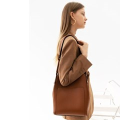 gaia hobo bag brown