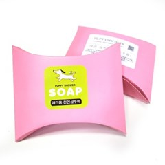 Puppy Shower 천연샴푸바 - 딸기+시어버터 (pt)