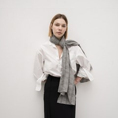 ciel cotton scarf (2color)