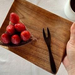 미소나무 플레이팅 원목 접시 도마 모음