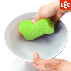 [LEC] 물세척 스펀지 아크릴수세미 [S-806]