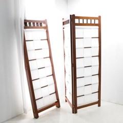 고급 원목파티션 나무칸막이 가벽 공간분리 2단 3단