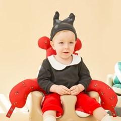 에시앙 디즈니 아기의자 전용 허그미키 2종세트 (레드)_(934802)