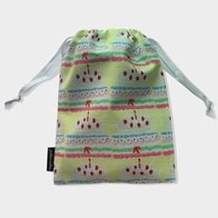Birthday string pouch_m