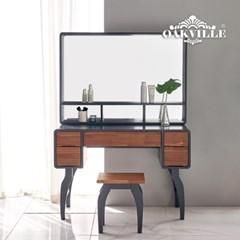 루까시원목화장대풀세트(거울+의자포함)