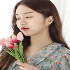 [에브리데이] 러브엠 하트 링귀걸이_귀걸이(AGIE0212BBPP)