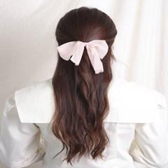 [블루밍데이] 스트라이프 리본 머리끈_핑크(AGHT0313HBPJ)