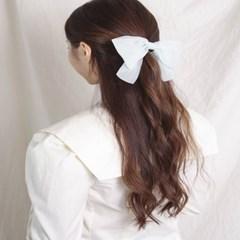 [블루밍데이] 스트라이프 리본 머리끈_민트(AGHT0313HBMJ)