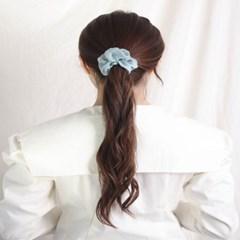 [블루밍데이] 린넨 헤어슈슈 곱창머리끈_그린(AGHT0305HBGG)