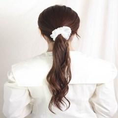 [블루밍데이] 도트 헤어슈슈 곱창머리끈_옐로우(AGHT0303HBWW)