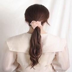 [블루밍데이] 데일리 헤어슈슈 곱창머리끈_오렌지(AGHT0304HBOO)