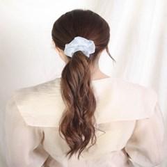 [블루밍데이] 데일리 헤어슈슈 곱창머리끈_블루(AGHT0304HBLL)