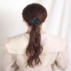 [블루밍데이] 데일리 헤어슈슈 곱창머리끈_블랙(AGHT0304HBBB)