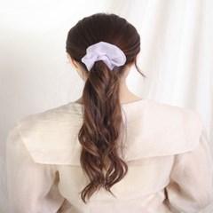 [블루밍데이] 데일리 헤어슈슈 곱창머리끈_바이올렛(AGHT0304HBVV)