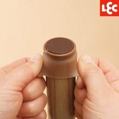 [LEC] 실리콘 원형 의자다리커버(M) 4P [O-340]