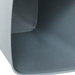 Modern 심플 사각 오픈 휴지통 10리터 높이 31.5cm