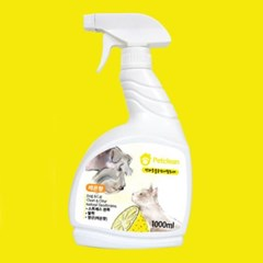 Pet Clean 탈취제 1000ml - 베이비 파우더향 (pt)