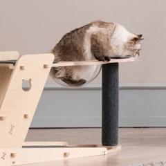 라샘 자작나무 원목 고양이 오리 캣타워 옵션형 GOCT196_(1421356)