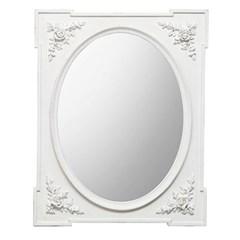 꼬떼따블 엔틱 장미 사각 벽거울 65x80 (양방향)
