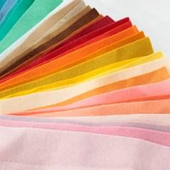 조각 양모 펠트지_7 Color Set (100g)