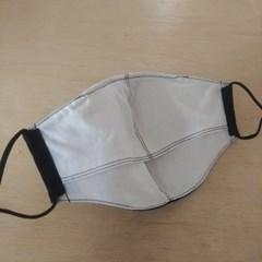 필터교체마스크만들기 마스크 남성2개 여성2개 검정색