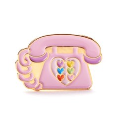 PINK PHONE BADGE