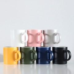 위즈라인 무광 머그컵 (400ml / 7color)