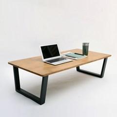 플레인 원목 좌식 테이블