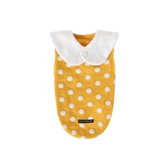 [T.삐삐 도트민소매]Pippi dot sleeveless_Yellow