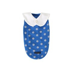 [T.삐삐 도트민소매]Pippi dot sleeveless_Blue