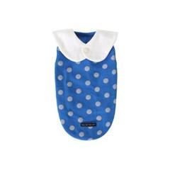 [T.삐삐 도트민소매]Pippi dot sleeveless_Blue