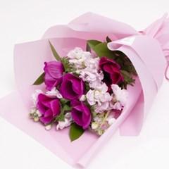 핑크 스토크 꽃다발 (생화, 전국택배)