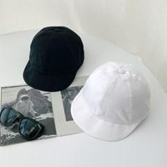 숏챙 워크캡 코튼 캠프캡 모자
