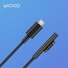 위키오 서피스 USB-C 전용 PD고속 충전 케이블 CRG001 1.5m