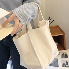 natural cotton bag ( cream )