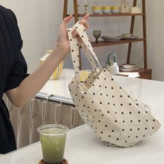 natural cotton bag ( dot )