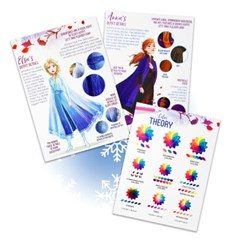 겨울왕국2 디자인 아트북
