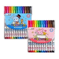 4000 12색향기사인펜(CR)-핑크
