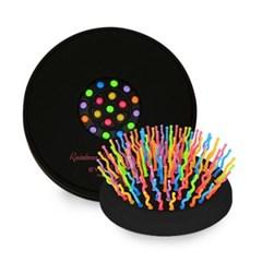 아이캔디 볼륨 S 브러쉬 컴팩트브러쉬 블랙 핑크