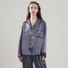 (w) Eco Charmeuse Pajama Set Grey