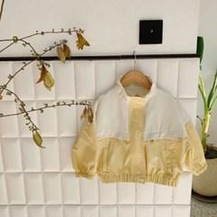 돌핀웨일 돌핀배색바람막이점퍼(75~135cm)