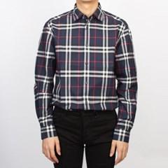 20SS 버버리 CAXTON 체크 셔츠 (남성/네이비) 8020865 A1960