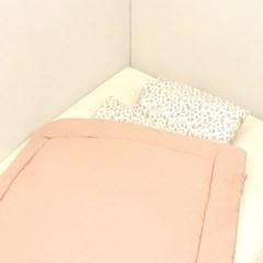 [바미블랑] 너도꽃 일체형 낮잠이불세트_(1424416)