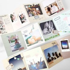 ACCORDION PHOTO CARD 아코디언 포토 카드
