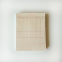 new monthly planner(pink) 먼슬리플래너