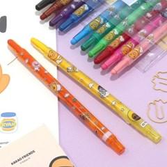 카카오프렌즈 12색 색연필 세트_(4185185)