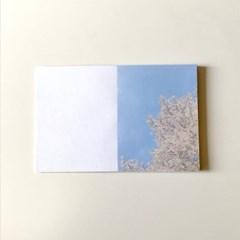 [메리필름] 벚꽃 감성 다꾸 떡메모지