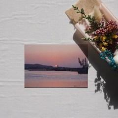 [메리필름] 제주도 감성을 담은 여행 엽서 set (5장)