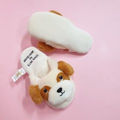 [PetToy]Love Pet Squeaky Beagle slipper바스락삑삑
